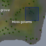 Mossy rock spawn location (moss golems).png