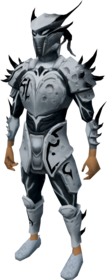 Elite sirenic armour set (Third Age) equipped.png: Elite sirenic hauberk (Third Age) equipped by a player