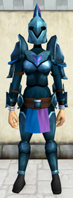 Rune armour (h2) (heavy) equipped (female).png: Rune helm (h2) equipped by a player