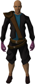 Brawling gloves (Thieving) equipped.png: Brawling gloves (Thieving) equipped by a player