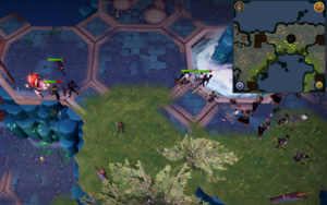 Scan clue Heart of Gielinor north of The Heart (left side).png