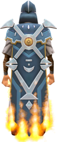 Veteran cape (15 year) equipped.png: Veteran cape (15 year) equipped by a player