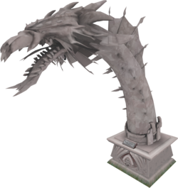2012 Queen Black Dragon statue.png