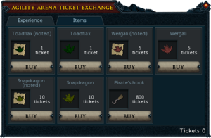 Agility Arena Interface Items.png