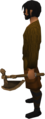 Bronze off hand battleaxe equipped.png