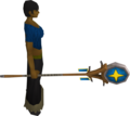 Banner of Saradomin equipped.png