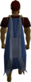 Cape (blue) (Stealing Creation) equipped.png
