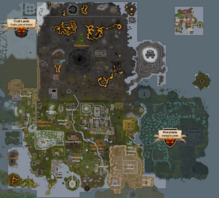 World Map The Runescape Wiki