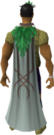 First age cape equipped.png: First age cape equipped by a player