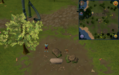 Tetracompass location Piscatoris east of Memorial to Guthix next to deadfall trap.png