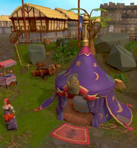 Fortune Tellers Tent The Runescape Wiki