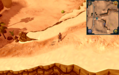 Compass clue Al Kharid west of desert strykewyrms.png