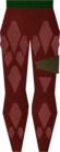 Red d'hide chaps detail old.png