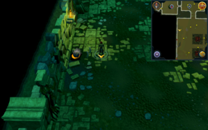 Scan clue Brimhaven Dungeon lower level north of entrance to Brimhaven resource dungeon.png