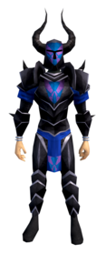 Black armour (h2) (heavy) equipped (male).png: Black helm (h2) equipped by a player
