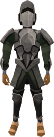 Detailed decorative armour equipped (male).png: Detailed decorative platebody equipped by a player