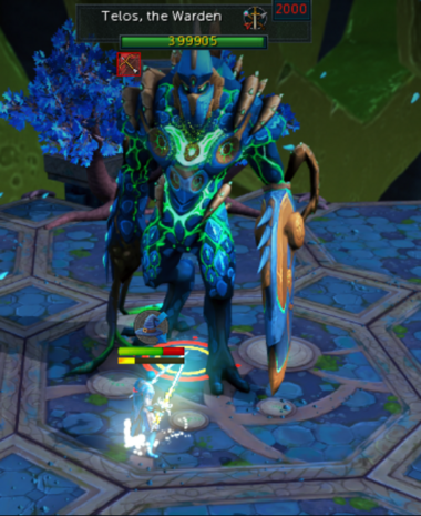 Killing Telos, the Warden - Th...