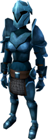 Rune armour (heavy) equipped (female).png: Rune platelegs equipped by a player