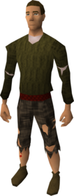 Citizen outfit equipped (male).png: Citizen top equipped by a player