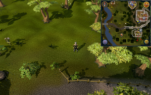 Compass clue Varrock south of Cooks' Guild.png