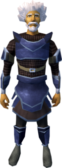 A player wearing full Katagon armour.