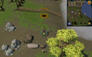 Scan clue Piscatoris Hunter area south of tunnel entrance to Piscatoris Fishing Colony.png