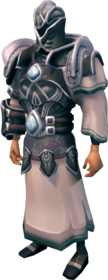 Abyssal armour equipped (male).png: Abyssal body equipped by a player