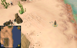 Scan clue Kharidian Desert north-east of Uzer Mastaba.png