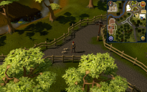 Compass clue Ardougne at the crossroad south of Ardougne Zoo.png