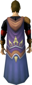 Pathfinder cape equipped.png: Pathfinder cape equipped by a player