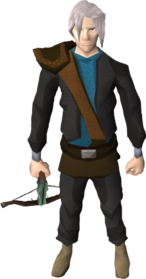 Adamant crossbow equipped.png: Adamant crossbow equipped by a player