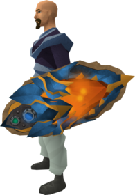 Augmented dragonfire ward equipped.png: Augmented dragonfire ward equipped by a player