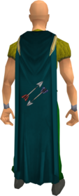 Fletching cape equipped.png: Fletching cape equipped by a player