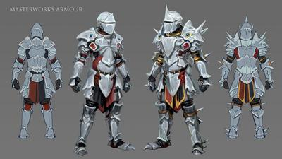Concept Art For Masterworks Armour