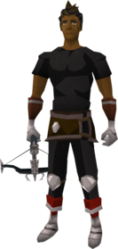 Ascension crossbow (Third Age) equipped.png: Ascension crossbow (Third Age) equipped by a player