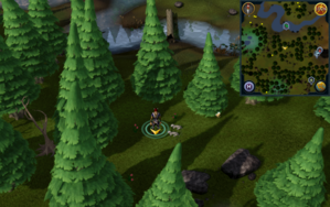 Scan clue Tirannwn south of eastern bridge.png