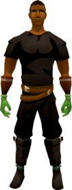 Dragon slayer gloves equipped.png: Dragon slayer gloves equipped by a player