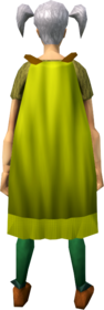 Cape_(yellow)_equipped_(female).png: Cape (yellow) equipped by a player