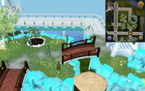 Scan clue Prifddinas Meilyr south-east of fruit tree patch.png
