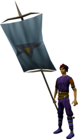 Banner (Dorgeshuun) equipped.png: Banner (Dorgeshuun) equipped by a player
