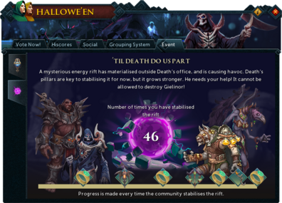 Halloween 2020 Deaths Rift Runescape 2018 Hallowe'en event   The RuneScape Wiki