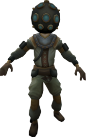 Diving suit equipped.png: Diving suit gloves equipped by a player