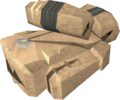 Stegoleather torn bag detail.png