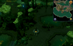 Scan clue Lumbridge Swamp Caves east of west Fishing spot.png