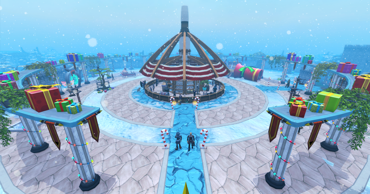 Runescape Christmas 2020 Takes You To The Port 2019 Christmas event   The RuneScape Wiki