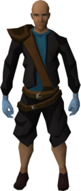 Brawling gloves (Fishing) equipped.png: Brawling gloves (Fishing) equipped by a player