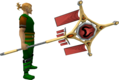 Banner of Zamorak (tier 4) equipped.png