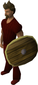 Fremennik round shield equipped.png: Fremennik round shield equipped by a player