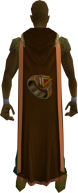 Dungeoneering cape (t) equipped.png: Dungeoneering cape (t) equipped by a player