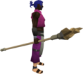 Earth staff (Dungeoneering) equipped.png